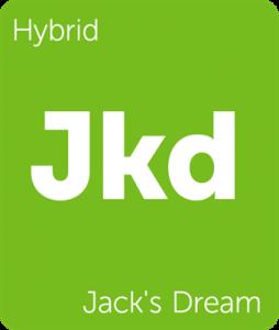 Leafly Jack's Dream hybrid cannabis strain