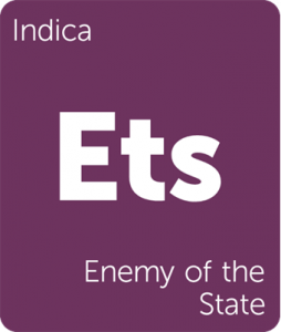 Leafly Enemy of the State indica cannabis strain