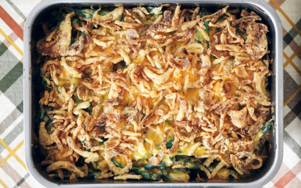 Cannabis-infused green bean casserole