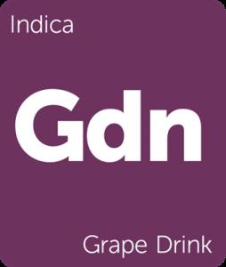 Leafly Grape Drink indica cannabis strain