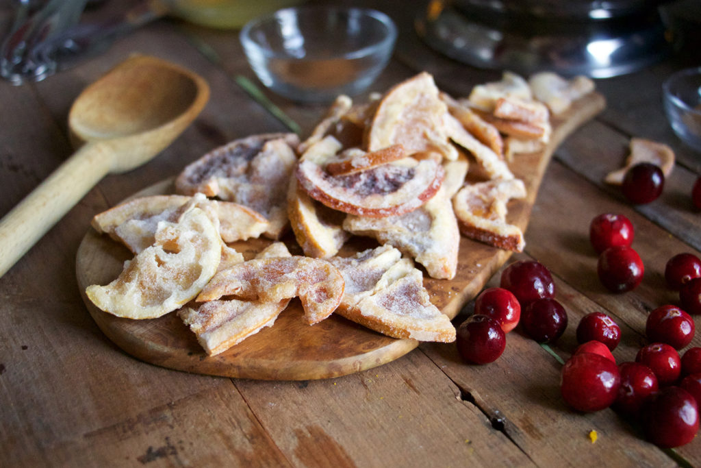 Craft Elixirs creates medicated dried fruits that can be added to stuffing or salads, or used to adorn a roasted turkey.