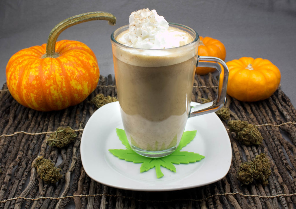 Get lit with this pumpkin spice latte!