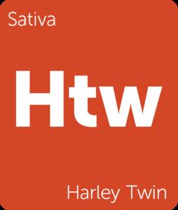 Leafly Harley Twin sativa cannabis strain tile