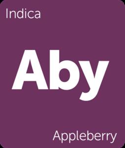Leafly Appleberry indica cannabis strain