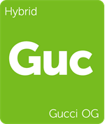 Leafly Gucci OG hybrid cannabis strain