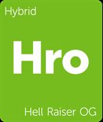 Leafly Hell Raiser OG hybrid cannabis strain