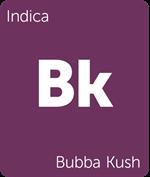 Leafly Bubba Kush indica cannabis strain