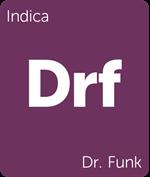 Leafly Dr. Funk indica cannabis strain
