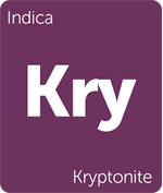 Leafly Kryptonite indica cannabis strain