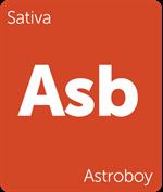 Leafly Astroboy sativa cannabis strain