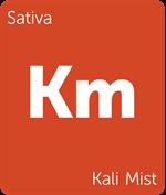 Leafly Kali Mist sativa cannabis strain