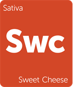 Leafly Sweet Cheese sativa cannabis strain