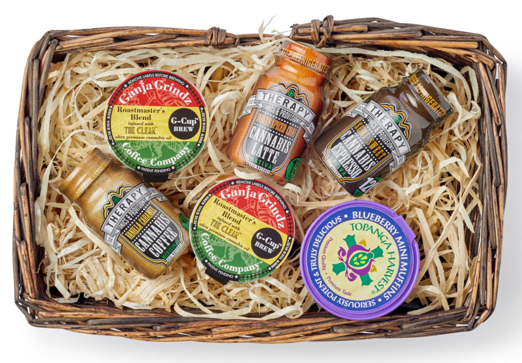 "Creating a ""Wake & Bake"" gift basket will surely delight your faded foodie friends this holiday season! (Photo by Damion Lloyd)"