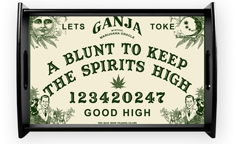 Let the stoned spirit move you with this novelty WeedJa board.
