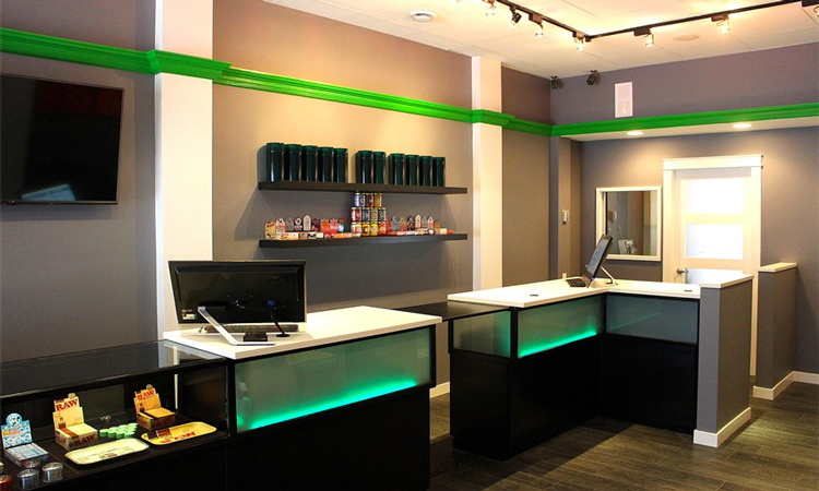 Cloud Nine medical marijuana dispensary in Victoria, British Columbia, Canada