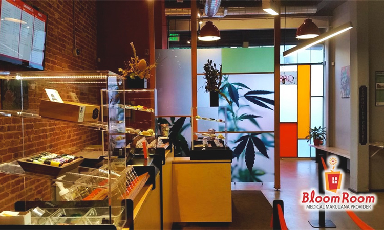 Bloom Room medical marijuana dispensary in San Francisco, California