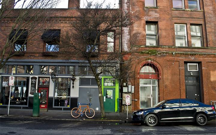 Rose City Wellness Center marijuana dispensary in Portland, Oregon