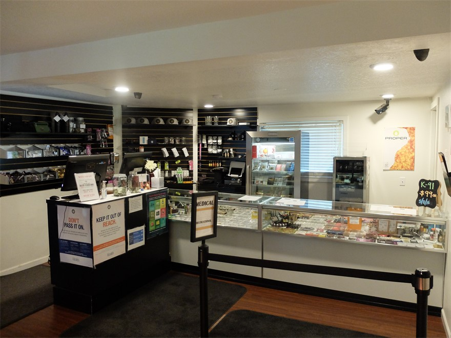 Nectar medical marijuana and recreational cannabis dispensary in Portland, Oregon